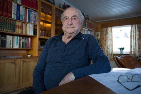 92: Kåre Kristensen er inne i sitt 93. år. 92 år ung, sier Kåre.