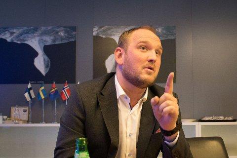 FINSK LUNKENHET: Landet som har mest å si for utbyggingen av ny, arktisk jernbane ser ut til å ha lagt prosjektet på hylla ifølge Norges samferdselsminister Jon Georg Dale.