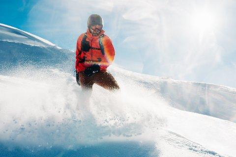 RISIKABELT: Faren for snøsked er ekstra stor i disse dager, melder NVE. Illustrasjonsbilde.