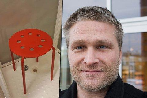 KJENDIS: Historien om krakken og testikkelen gjorde Claus Jørstad verdenskjent. Nå har også Jackass-stjernen fått det med seg.