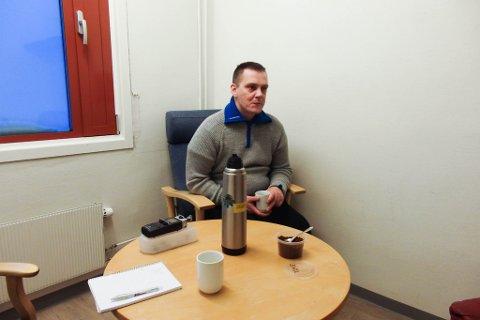 22 DOMMER: iFinnmark møter Arnt Jøran i Vadsø Kretsfengsel hvor han forteller sin historie.