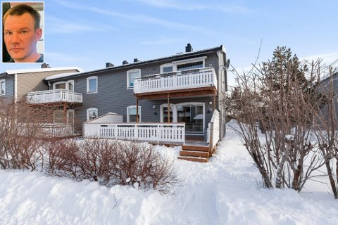 DOBLET VERDIEN PÅ SEKS ÅR: Da Jan-Ståle Henriksen nylig skulle selge huset sitt i Alta for å flytte hjem igjen til Lakselv hadde huset han kjøpte for 1,29 millioner kroner i 2012 mer enn doblet seg i verdi.