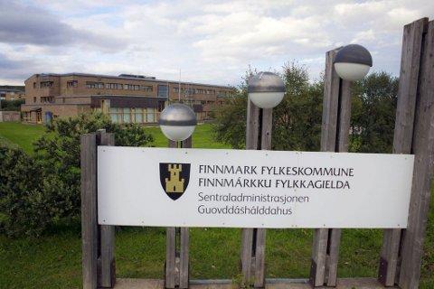 Finnmark fylkeskommune i Vadsø.