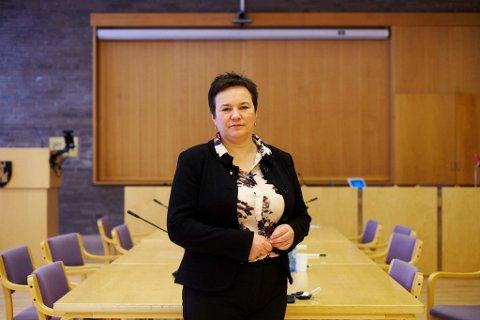 MERKELIG SPØRSMÅL: Fylkesordfører Ragnhild Vassvik (Ap) synes hun fikk et svært merkelig spørsmål fra departementet om nordområdesekretariat i Vadsø.