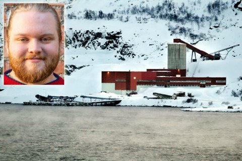 REAGERER: Jør en Næss Karlsen (innfelt), 2. nestleder i Natur og Ungdom, går hardt ut mot Nussir og Øystein Rushfeldt.