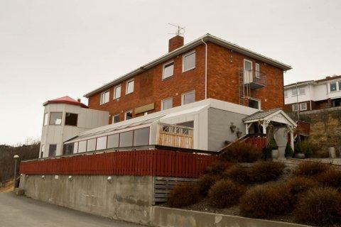 INNBRUDD: Gutten skal ha gjort skadeverk og innbrudd her på Altagaard Gjestehus & Spa i Alta.