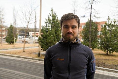 AKTIV: Alta-spiller Christian Reginiussen har en aktiv hverdag.