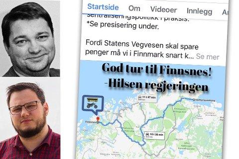 FEIL: Både SV og NAF tar feil, sier pressesjef Kjell Bjørn Vinje (innfelt, øverst) i veivesenet. Montasje.