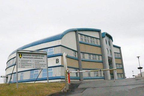 STREIK: Unio at de har over 7000 streikeklare lærere i en rekke kommuner. Skolen i Hammerfest er av flere som kan bli tatt ut i streik.