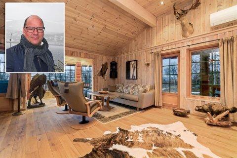 HYTTELUKSUS: - Man får en helt annen bruk av boligen. Istedet for å kjøre hjem i byen, kan man dra til Skaidi hvor det er de samme fasilitetene, sier eiendomsmegler Inge Bock om hytta.