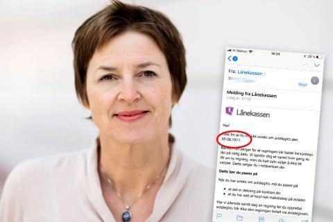 BEKLAGER: Kommunikasjonsdirektør Solbjørg Sørensen sier at e-posten aldri skulle ha blitt sendt.