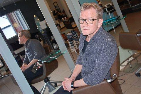 FRISØR: Morten Nygaard Langseth.