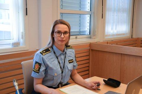 I RETTEN: Politiadvokat Guro Angell Steffensen i Alta tingrett fredag.