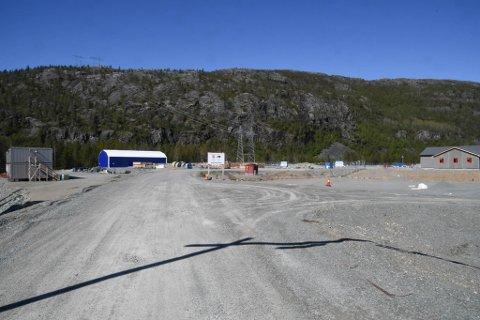 Statnetts område på Skillemoen i Alta.