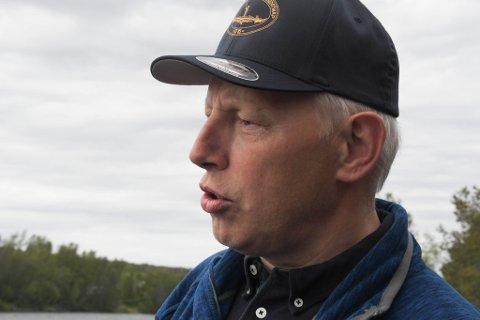 SLUTTET: Tor Erland Nilsen var daglig leder   i Alta Laksefiskeri Interessentskap fram til mandag 1. mars. Nilsen har aldri registrert større interesse for å fiske i Altaelva, sier nåværende leder, Vegard Ludvigsen.