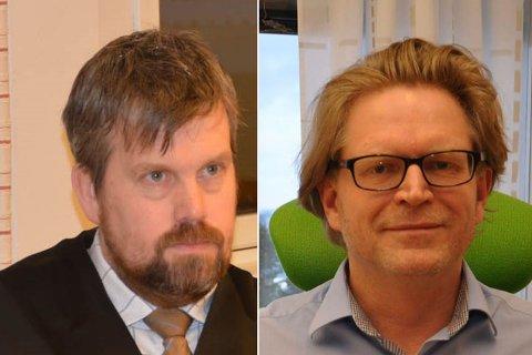 ANSATT: Jon Mjellekås og Torbjørn Saggau Holm søkte på samme jobb. Foto: Oddgeir Isaksen
