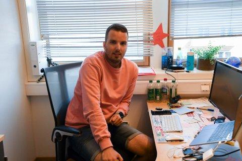 SETT RØDT, MEN TROR DET SNUR: Daglig leder i Offroad Finnmark, Anders Abrahamsen, har troen på at årets ritt kommer til å endre minus til pluss i boka.