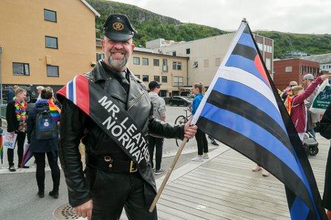 Per Helge Nylund reiste nordover for å delta i Pride 2019 i Hammerfest