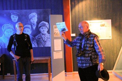 FORBANNA: Da Frank Sundkvist leste kronikken til forsvarsminister Frank Bakke-Jensen, ble han rett ut forbanna. Han kan ikke forstå at partisanene ikke fikk plass på listen under overskriften «Frigjøringen av Øst-Finnmark – et gigantisk alliert prosjekt».