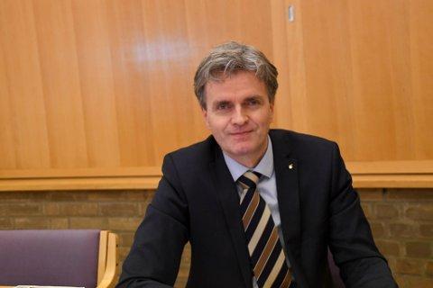 NY STILLING: Øystein Ruud er en av mange som nå har søkt ny stilling for Troms og Finnmark fylkeskommune.