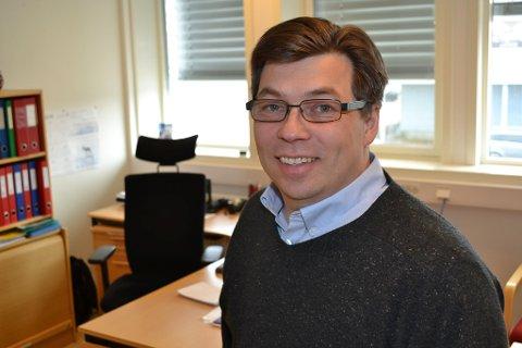 BLID: Rådmann Jørn Aslaksen i Tana kommune gleder seg til oppstart av helsesykepleierstudiet.