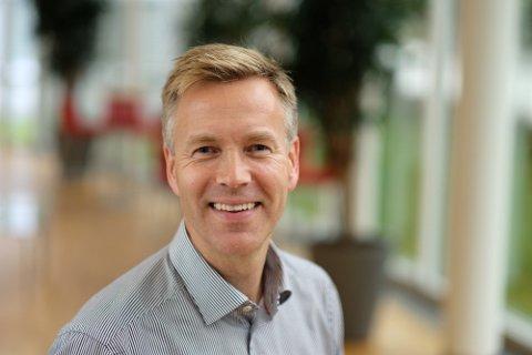 Jon Berge, informasjonsdirektør If Skadeforsikring Foto: If Skadeforsikring
