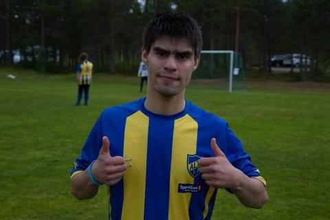 MÅL: Jon Cesar S. Johnsen scoret mål for Alta FFU. To til og med.