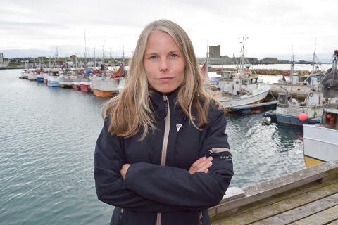 VIL IKKE STØTTE BUDSJETTFORSLAGET: Kirsti Bergstø og SV sitter i posisjon på fylkestinget, men har ikke hatt så mye med fylkesrådets budsjettforslag å gjøre.