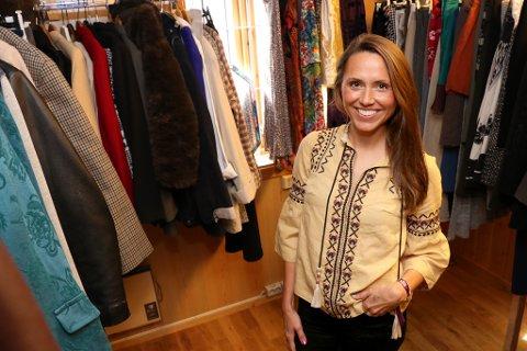 OPPGJØR MED BRANSJEN: Sarah Lisa Arnesen er utdannet klesdesigner, etablerte sin egen klesbedrift (Nurke) og jobbet tre år som sjef for luksusbutikken Høyer Tromsø.