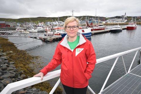 DÅRLIG JOBB: SVs gruppeleder Anne A. Johnsen mener havnestyret har hatt for dårlig kontroll med økonomien. Derfor la hun fram forslag om mistillit på vegne av SV og Høyre..