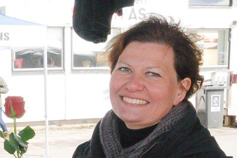 VALGKAMP: Helga Pedersen mener Høyre Frp må svare på hvor de vil kutte, nå som de vil fjerne eiendomsskatten.