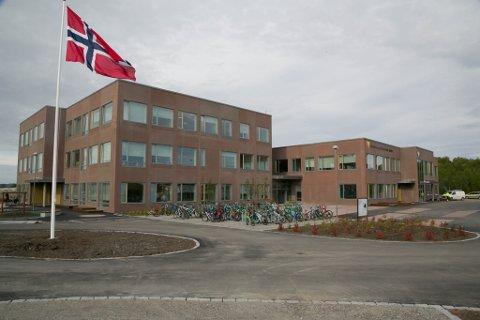NY: Sandnes og Bjørnevatn skole var klar for å ta i mot elever ved skolestart i august.