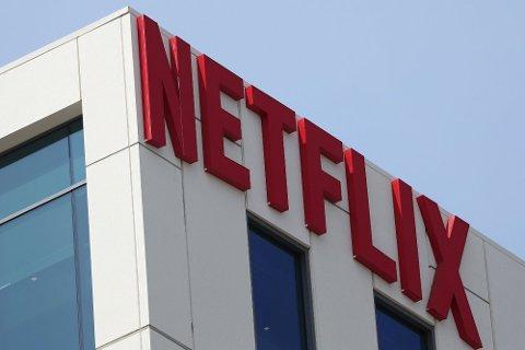 I STJERNENES BY: Netflix' kontor i Hollywood. Foto: Robyn BECK / AFP