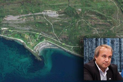 REAGERER: Høyre-politiker Johnny Aikio reagerer på at fylkeskommunen har klaget inn et nytt initiativ i Vadsø. Nå er han bekymret for at fylkeskommunen bremser opp utviklingen i kommunen.