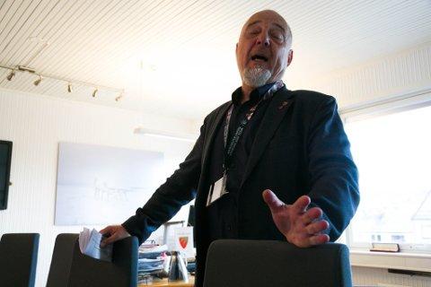 KRITISK: Rune Rafaelsen har lenge vært kritisk til Babcock som leverandør for luftambulanseberedskapen i nord.