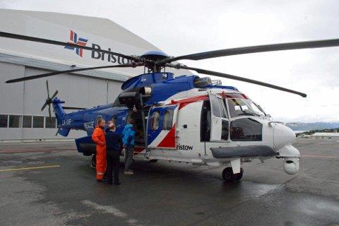 ØKENDE: Helikoptertrafikken over Hammerfest lufthavn vil øke og behovet for ny flyplass er kritisk.