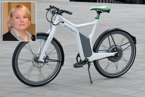 MILJØ OG HELSE: - Det er en miljø- og folkehelsetanke i det, sier assisterende rådmann Elisabeth Paulsen om anskaffelse av elsykler.