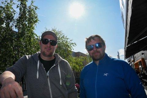 SAMARBEIDER: Torgeir Ekeland (til venstre) i Alta Live og Vegard Berge Uglebakken på Stakeriet har inngått et samarbeid.