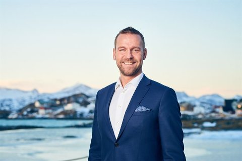 – GOD UTVIKLING: Konsernsjef i SpareBank 1 Nord-Norge, Petter Høiseth, er fornøyd med resultat for første halvår 2019.
