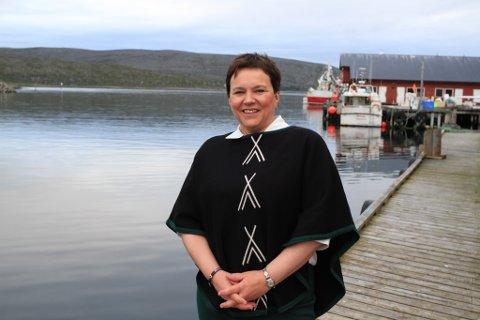 SIER NEI: Fylkesordfører Ragnhild Vassvik og resten av fylkesutvalget sier enstemmig nei til fiskeridepartementets forslag om å åpne opp for flere båter i det kvoteregulerte krabbefisket i Øst-Finnmark.