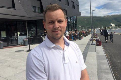 DAGLIG LEDER: Jon-Erik Henriksen fra Henningsvær er daglig leder i Fiskarlaget Nord.