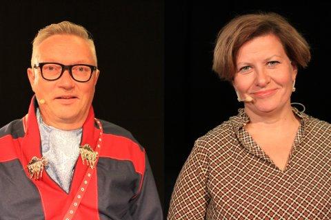 TOTALT UENIGE: Jon Erland Balto (Sp) fikk telefon fra Helga Pedersen (Ap) med påminning om å følge loven. Men så ble hun ordfører, og da var det ikke het det samme.