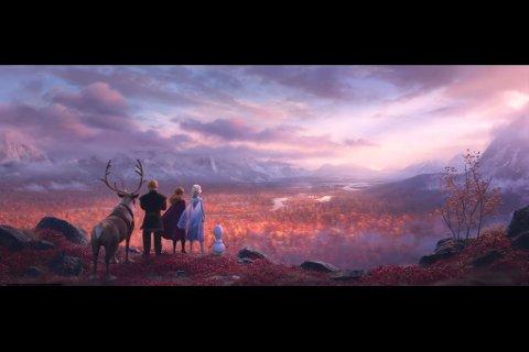 HENTET INSPIRASJON: Disney Animations har vært i Finnmark og hentet inspirasjon til storfilmen Frozen 2. Ser du likheter mellom bildene? Bla mellom bildene for å sammenligne.