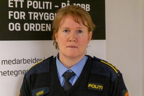 MOTTATT ANMELDELSER: Siri Ulverud, konstituert lensmann i Porsanger, bekrefter at de har mottatt to anmeldelser etter helgen.