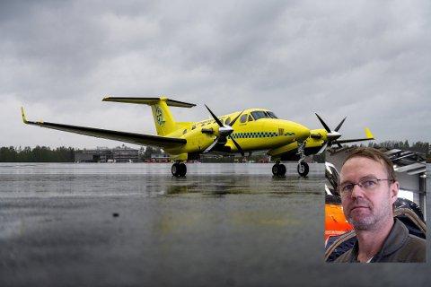 REAGERER: Kjetil Vik, tidligere flyger for Lufttransport, mener at sykdomsutbruddet hos de ansatte pilotene hos Babcock i jula egentlig ikke var et reellt sykdomstilfelle, men en planlagt aksjon fra pilotenes side.