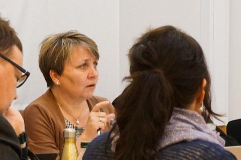 ORDFØRER: Her er ordfører Aina Borch i et møte tidligere i år.