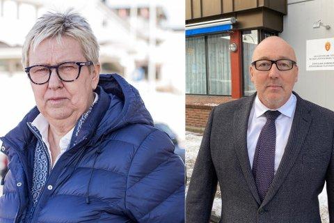 Ordfører i Vadsø, Wenche Pedersen og sorenskriver Kåre Skognes har vist klart at her er plass for lagmannsretten.