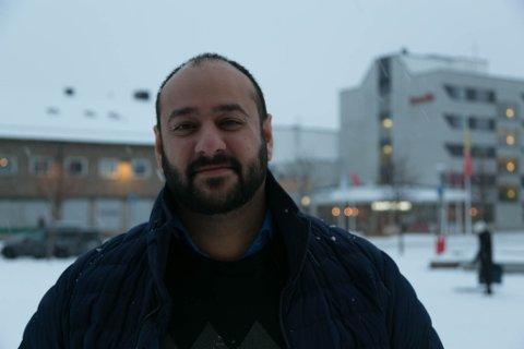 KAMPKLAR: Farid Sharati er valgt som toppkandidat for MDG i Finnmark til kommende høsts Stortingsvalg. Han er klar for valgkamp.