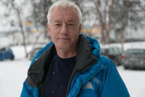 LENGSEL: Jakob Arvola er ekte finnmarking, bosatt i Oslo. Han har en veldig lengsel til fylket, blant annet til snøen.