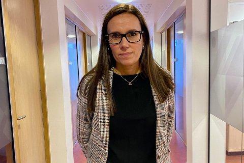 MYE I SPALTENE: Ordfører Marianne Sivertsen Næss holdt daglige pressekonferanser da situasjonen var som verst i Hammerfest i oktober.